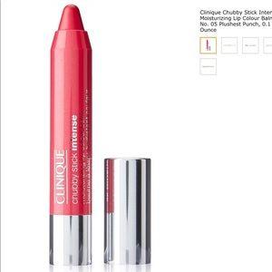 NWT Clinique plushies punch sexy lip balm